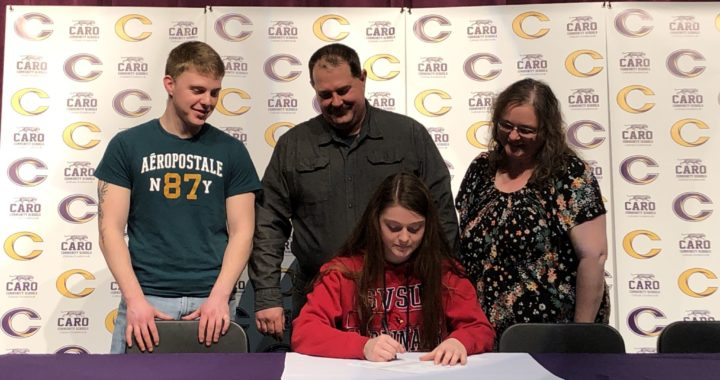 Family tradition: Caro thrower to continue career nearby