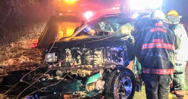 Chase ends when driver crashes near Millington