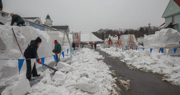 Winter festival underway in Frankenmuth