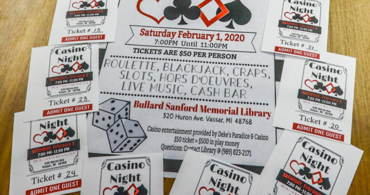 Vassar library boosters roll with 'Casino Night'