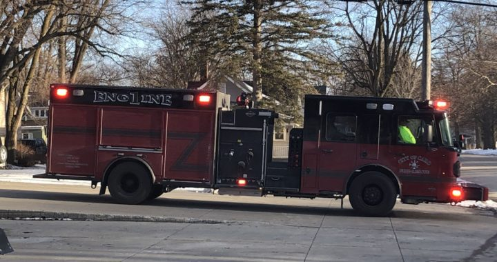 Caro welcomes new fire engine