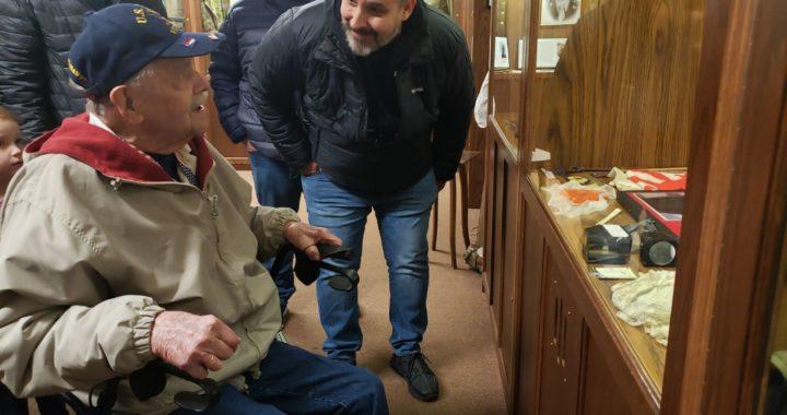 Vassar veteran honored with display at area museum