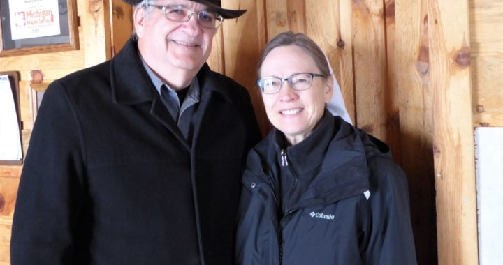 Sweet reward: Local couple honored for syrup