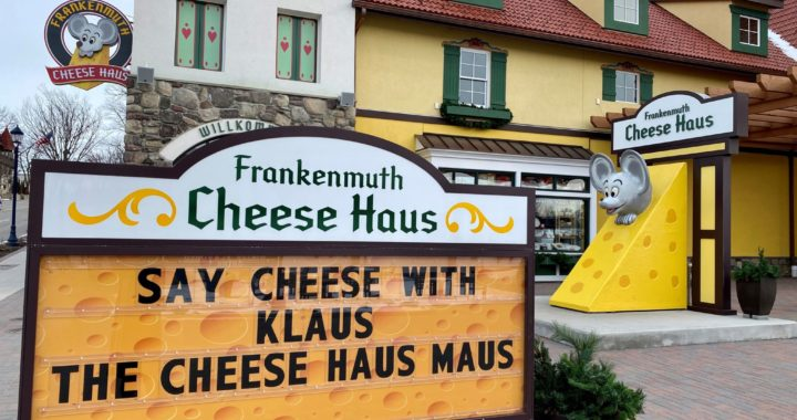 Cheese Haus mouse has its name