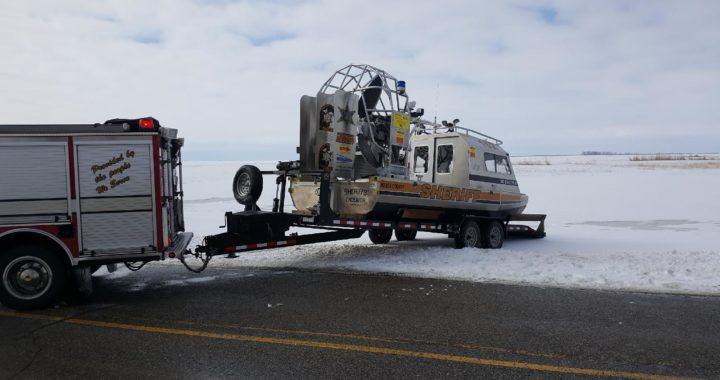 Vassar men break through ice in Huron County
