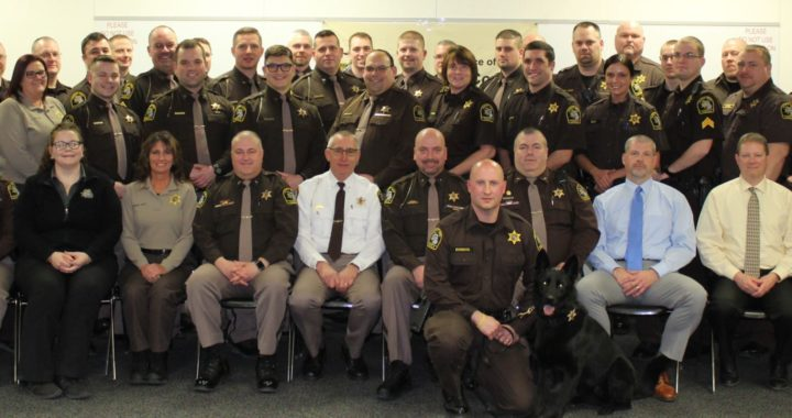 Sheriff's office holds annual awards banquet