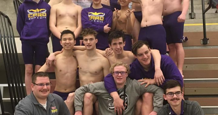 Caro swimmers runner-up at conference meet