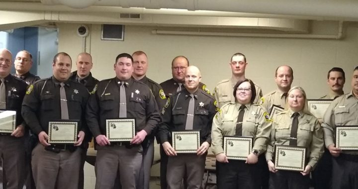 Huron County Sheriff's Office honors deputies