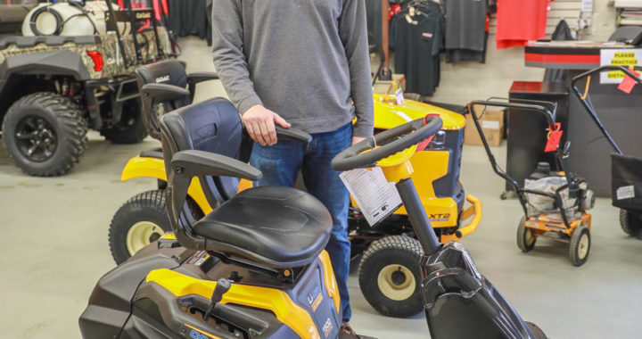 Plugged in: Reese store rolls out electric riding mowers