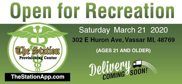 Thumb's first recreational-pot store opens March 21