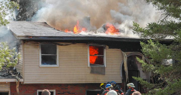 Fire destroys Millington-area home