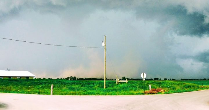 Storms spawn possible tornado in northern part of county