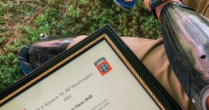 Travis Mills inducted into 82nd Airborne Hall of Fame