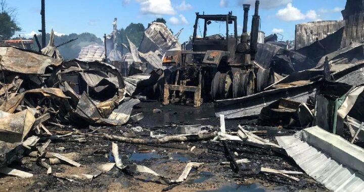 Despite blaze, Thumb farm family 'doing all right'