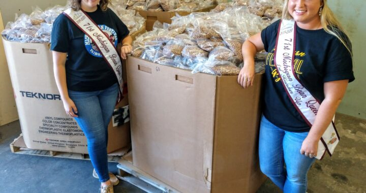 Bean Queen reps roll up sleeves as volunteers