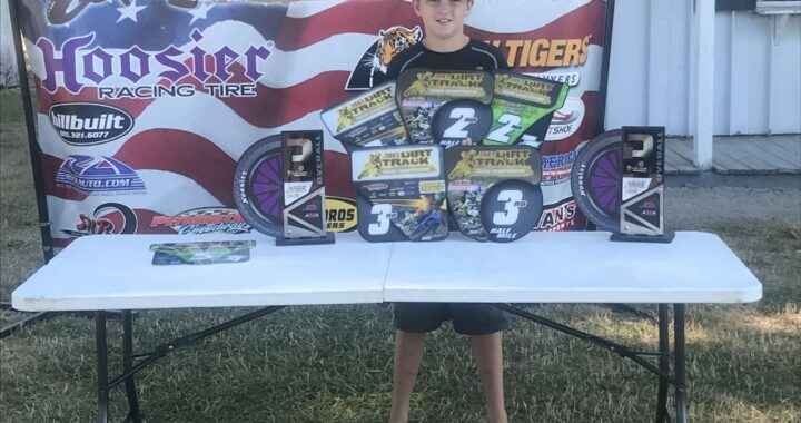 County kid makes noise on national racing stage