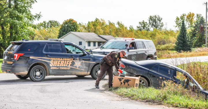 Police: Clio suspect crashes car, eludes officers
