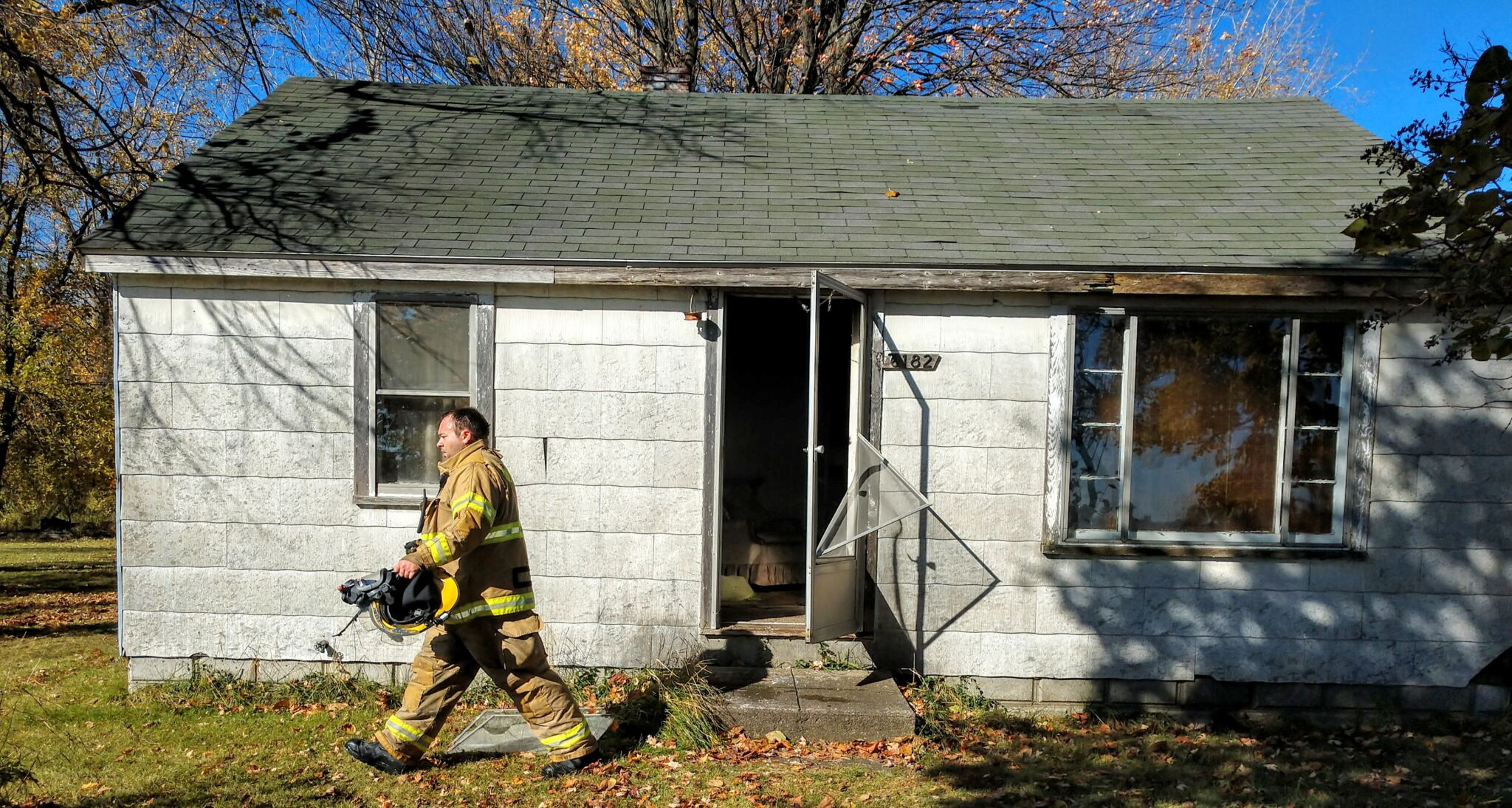 Fire damages home along M-25 in Tuscola County