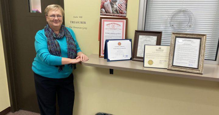 Treasurer closes book on near five decades of service
