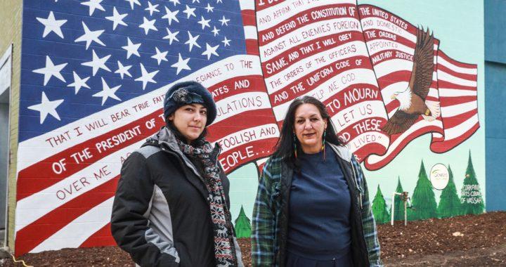 New glory: Flag mural boosts Vassar spirits