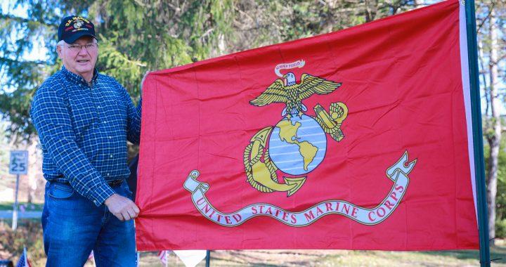 Vietnam vet: Flag display defends Old Glory