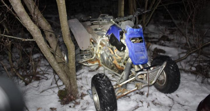 Police nab alleged thieves, looking for owner of four-wheeler