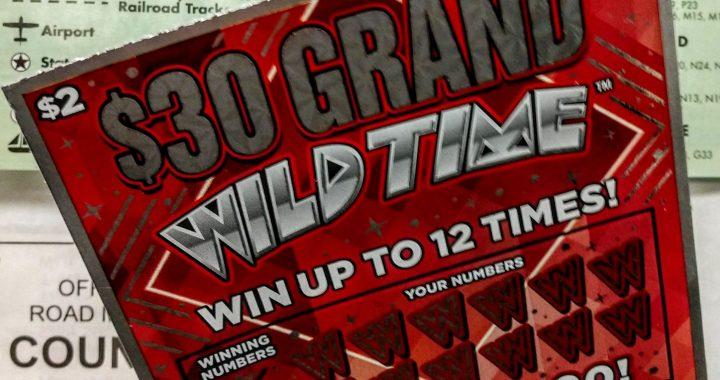 $2 lottery ticket, sold in Sebewaing, wins $30,000