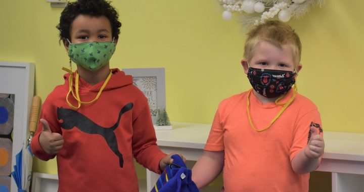 'Forever friends': Act of kindness brings youngsters together