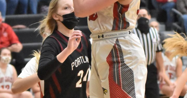 Frankenmuth season ends against hot handed Portland