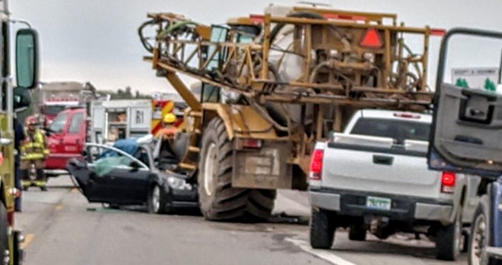 Saginaw man, 28, dies in crash with large tractor