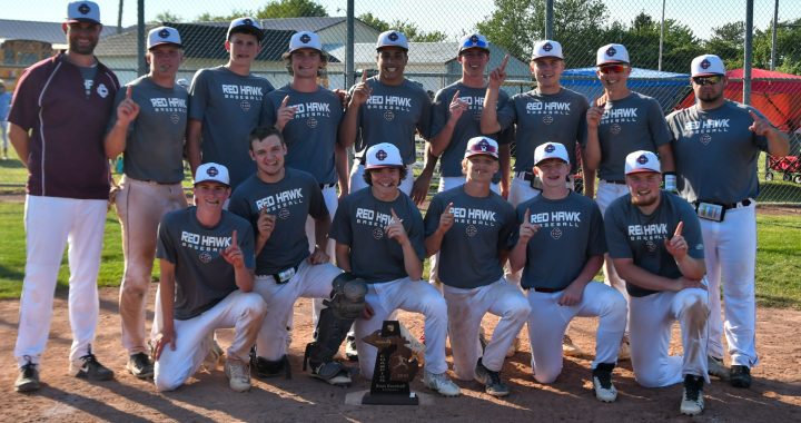 Red Hawks win district title with Marshall, Tschirhart leading the way