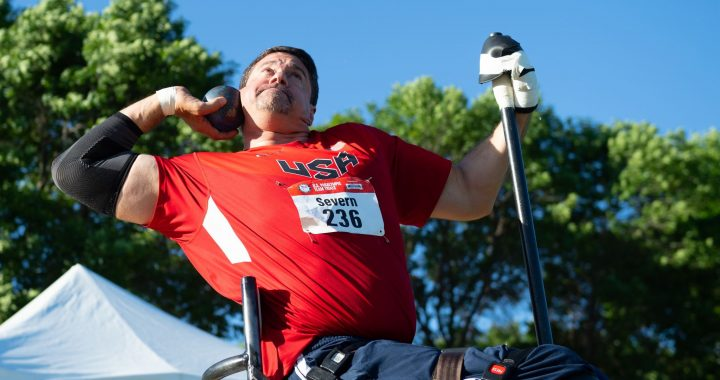 Caro Paralympian set for fourth straight games