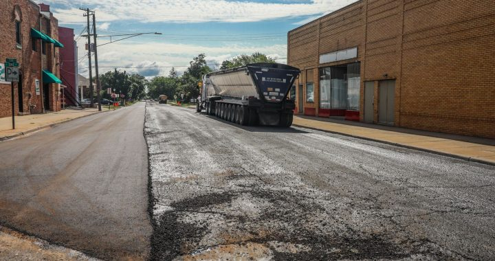 State project improves East Frank Street in Caro