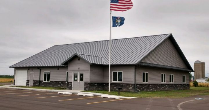 Almost ready: Officials conducting business in still unfinished  new  township office building