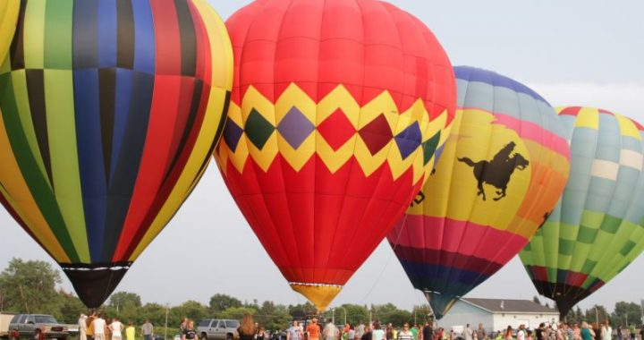 Rev it up: Burnout contest, hot-air balloons coming