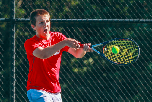Frankenmuth tennis falls to chesaning 6-2