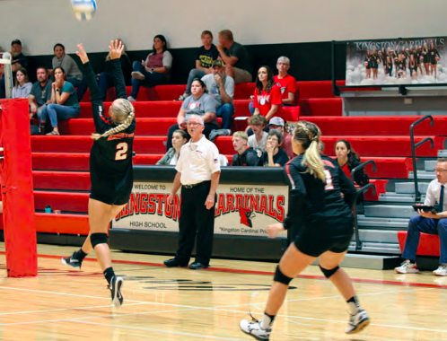 Cardinals Cruise Over Peck in Straight Sets